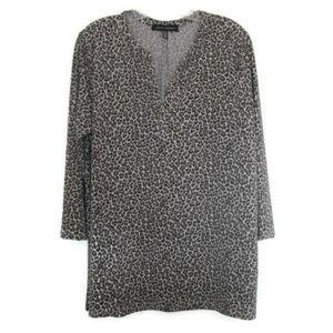 plus size leopard top xl extra large animal print